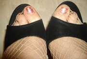 Photos des pieds de Ginette69, escarpins