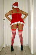 Photos des fesses de Libido40, Sous la tenue de Mère Noël....