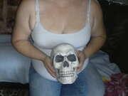 Photos des seins de Pascboss, Concour Halloween