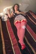 Photos de la lingerie de Dimetdelf, delphine en rouge