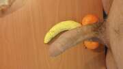 Photos de la bite de Dickinyoface, Les fruits m'inspirent
