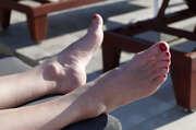 Photos des pieds de Sandroparis, En Crete