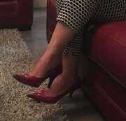 Photos des pieds de Sg95, En talons