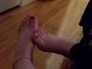 Photos des pieds de Mirajane, Mes pieds