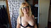 Photos des seins de Gilleshadow, Essai lunette