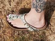 Photos des pieds de Man2818, Pieds de ma femme